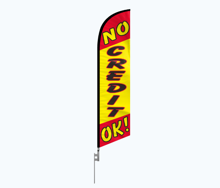 car dealerships feather flags