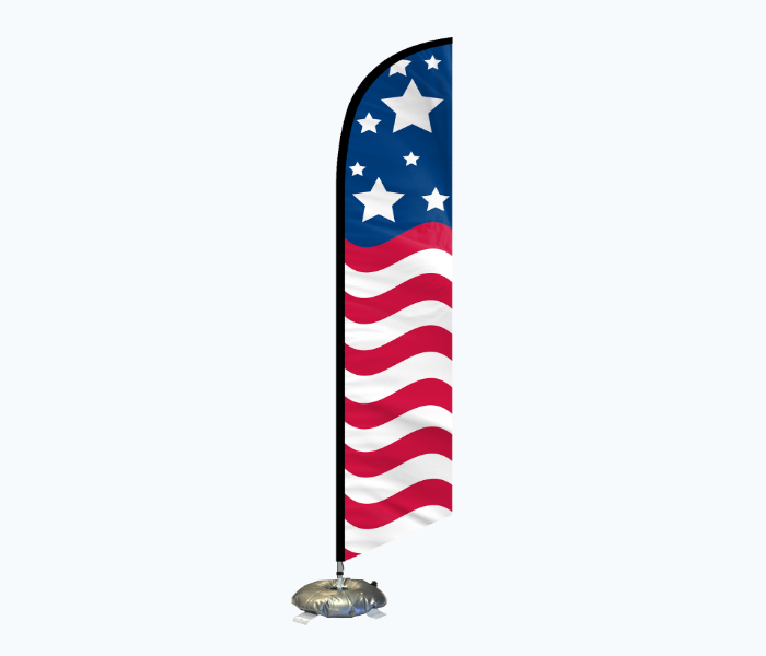 cross base x stand for feather flags