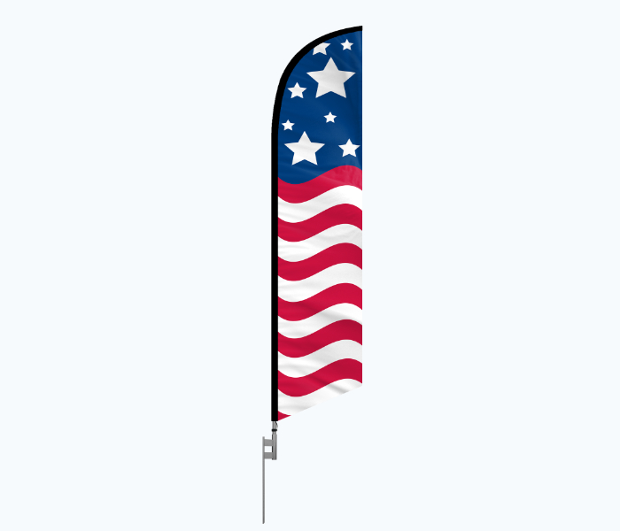 ground spike stake for feather flags
