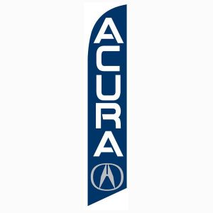 Acura Feather Flag Banner
