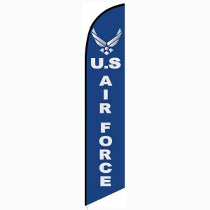 Air Force Feather Flag Banner