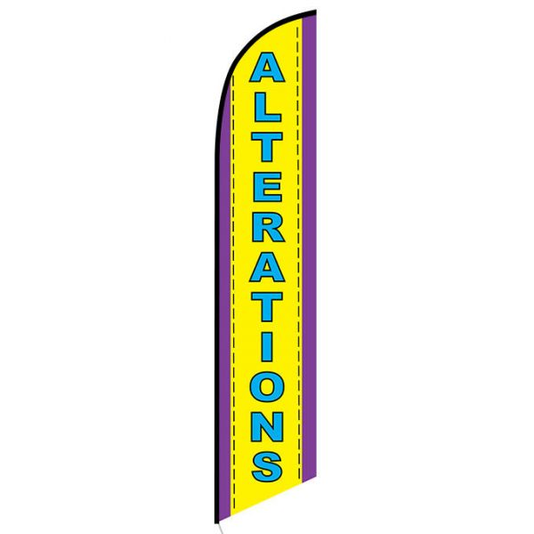 Alterations Feather Flag Banner