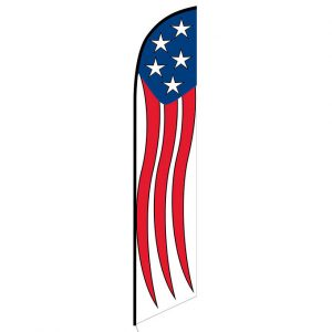 American Patriotic Festival Feather Flag Banner
