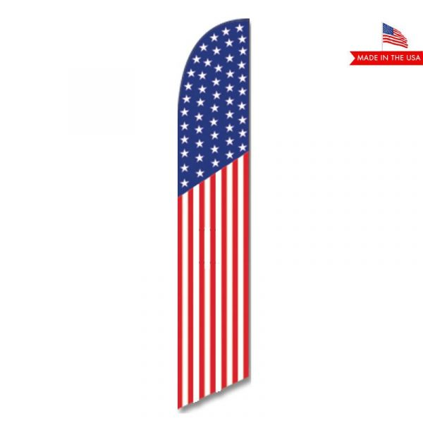 American Feather Flag Banner