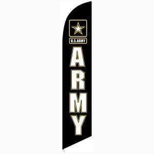 Army Feather Flag Banner