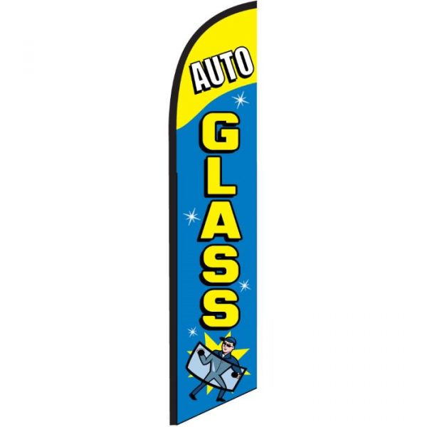 Auto Glass Feather Flag Banner Banner NSFB-5811