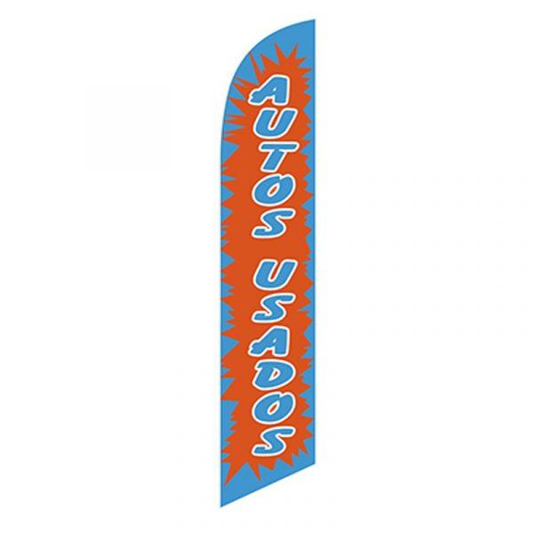 Autos Usados Feather Flag Banner