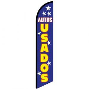 Autos Usados swooper flag
