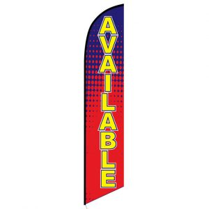 Available Feather Flag Banner