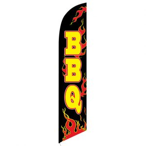 BBQ Feather Flag Banner