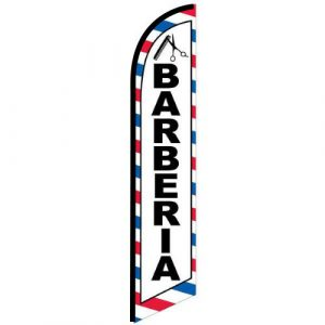 Barberia Feather Flag Banner