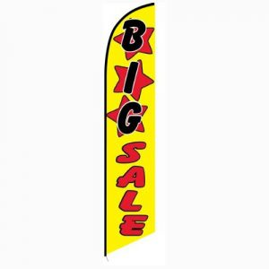 Big Sale Feather Flag Banner