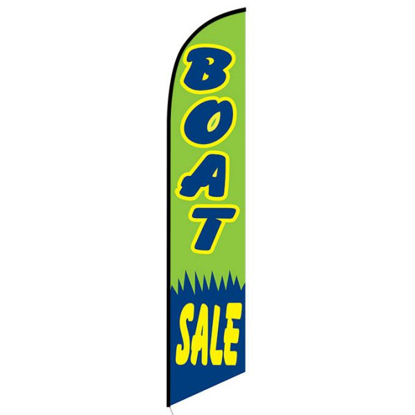 Boat Sale Feather Flag Banner