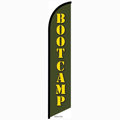 Bootcamp Feather Flag Banner