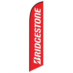 Bridgestone Feather Flag Banner