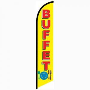 Buffet Feather Flag Banner