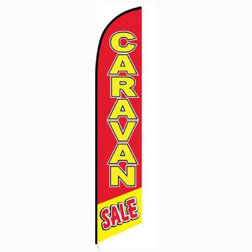 Caravan Sale banner flag