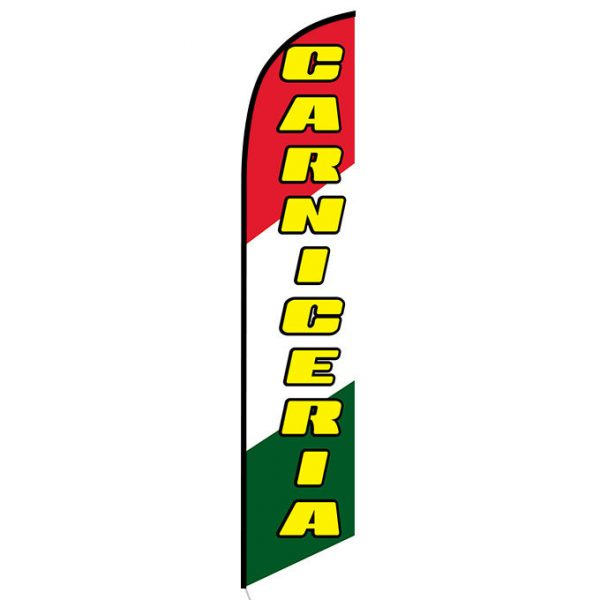 Carniceria Feather Flag Banner