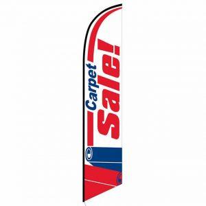 Carpet Sale Feather Flag Banner