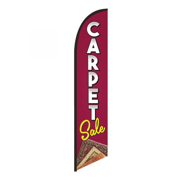 Carpet Sale Feather Flag Banner