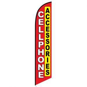 Cellphone Accessories Feather Flag Banner
