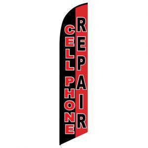 Cellphone Repair Feather Flag Banner