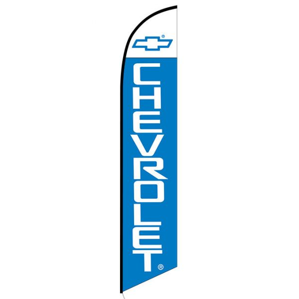 Chevrolet Feather Flag Banner