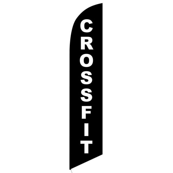 Crossfit Feather Flag Banner