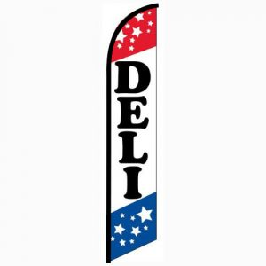 Deli Feather Flag Banner
