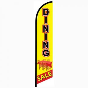 Dining Sale Feather Flag Banner