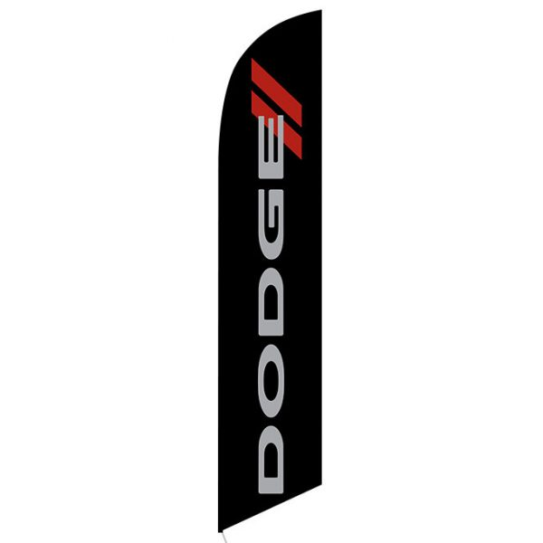 Dodge Feather Flag Banner