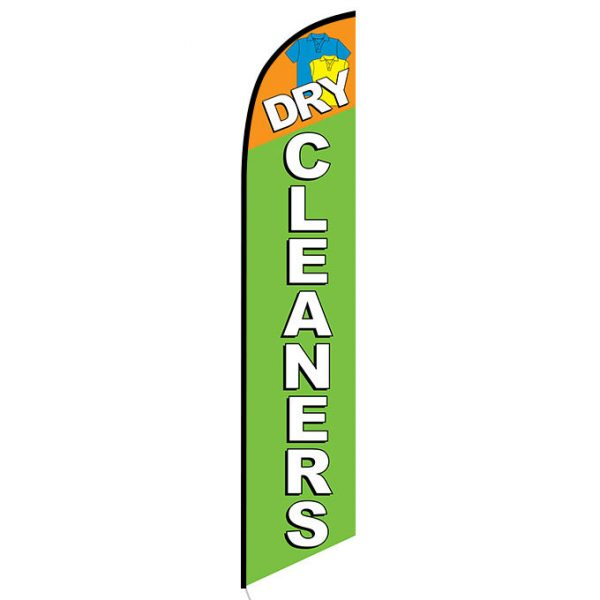 Dry Cleaners Feather Flag Banner
