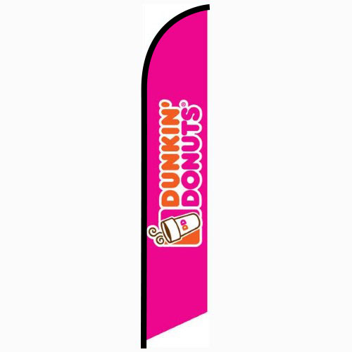 Dunkin Donuts Feather Flag Banner