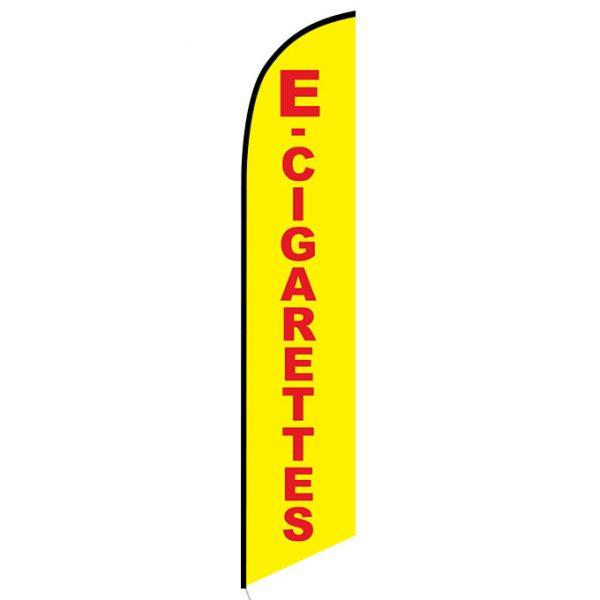 E-cigarettes Vape Feather Flag Banner