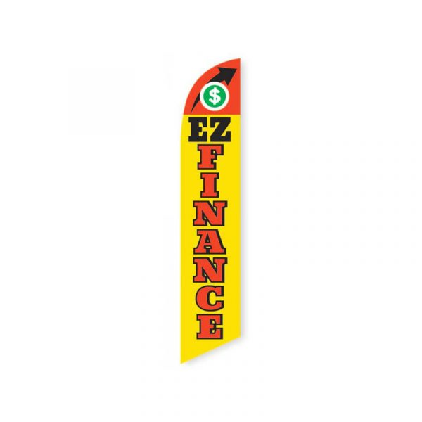 EZ Finance Feather Flag Banner