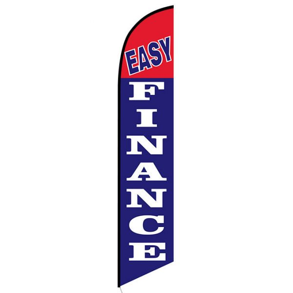 Easy Finance Feather Flag Banner