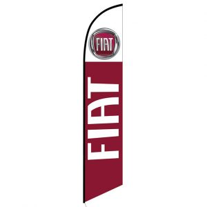 FIAT Feather Flag Banner