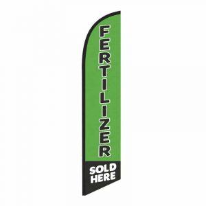 Fertilizer Sold Here Feather Flag Banner