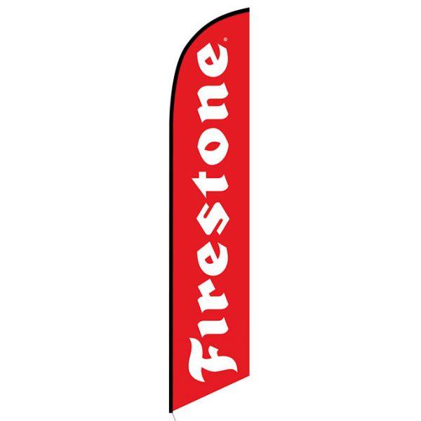 Firestone Feather Flag Banner