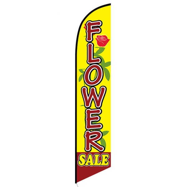 Flower Sale Feather Flag Banner