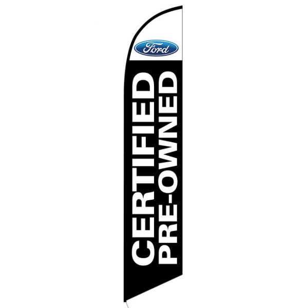 Ford Certified Pre-owned Feather Flag Banner