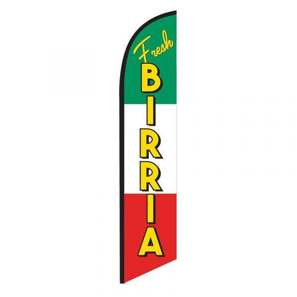 Fresh Birria Feather Flag Banner