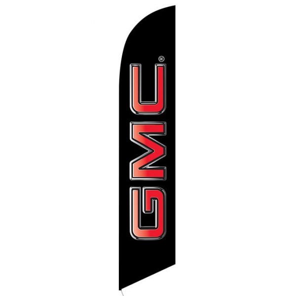 GMC Feather Flag Banner