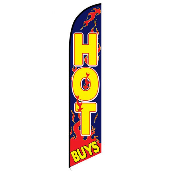 Hot Buys Feather Flag Banner