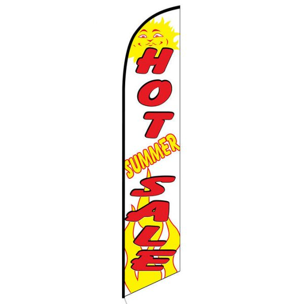 Hot Summer Sale Feather Flag Banner