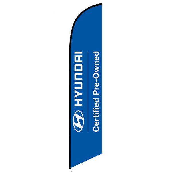 Hyundai CPO Feather Flag Banner