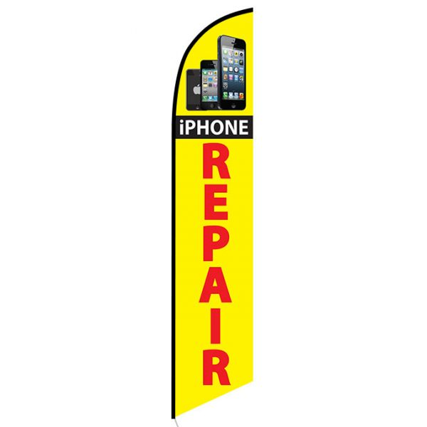 I-phone Repair Feather Flag Banner
