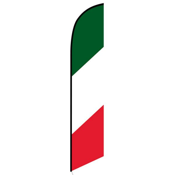 Italian Feather Flag Banner