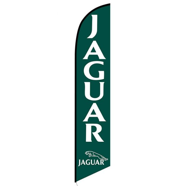 Jaguar Feather Flag Banner