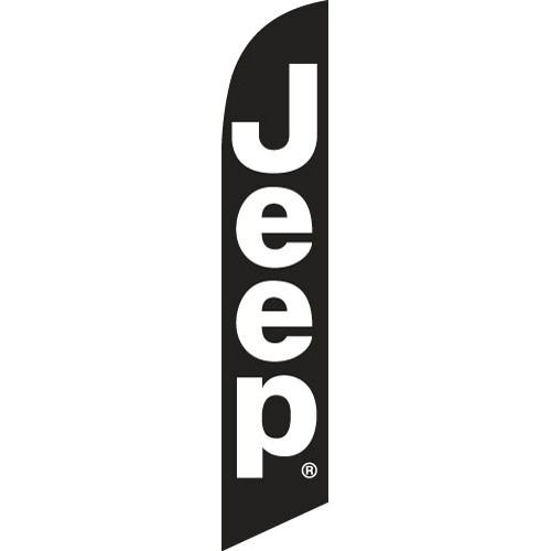 Jeep Feather Flag Banner